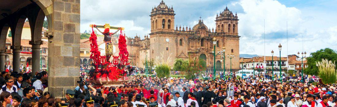 Arzobispo del Cusco se dirige a los fieles devotos del Señor de los Temblores