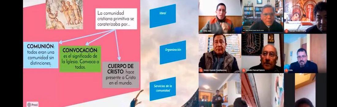 CLERO ARQUIDIOCESANO DEL CUSCO PARTICIPÓ DE TALLER SOBRE LA INICIACIÓN A LA VIDA CRISTIANA