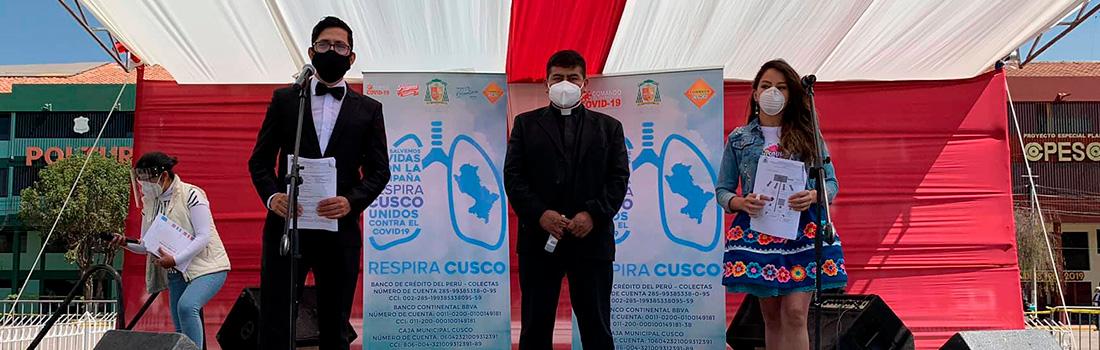 """MÁS DE 600 MIL SOLES RECAUDÓ HASTA LA FECHA LA CAMPAÑA """"RESPIRA CUSCO"""""""