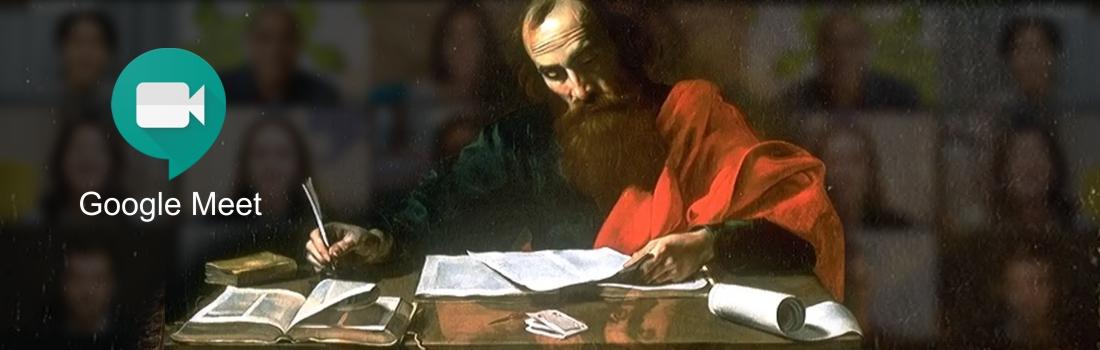 """SE REANUDA DE MANERA VIRTUAL EL CURSO """"ESCUELA BIBLICA"""" SOBRE LAS CARTAS DE SAN PABLO"""